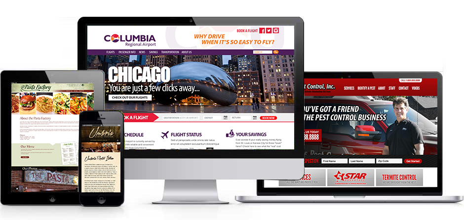 Responsive Website Designs by Zimmer Radio & Marketing Group