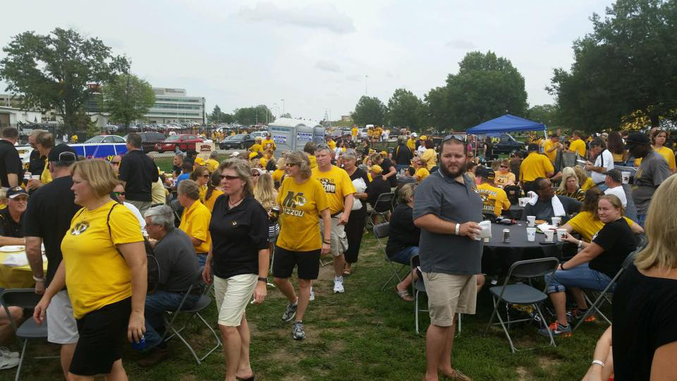 tiger tailgate party