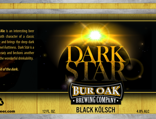 Bur Oak Brewery – Beer Label