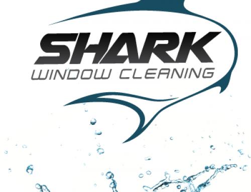 Shark Window Cleaning Logo