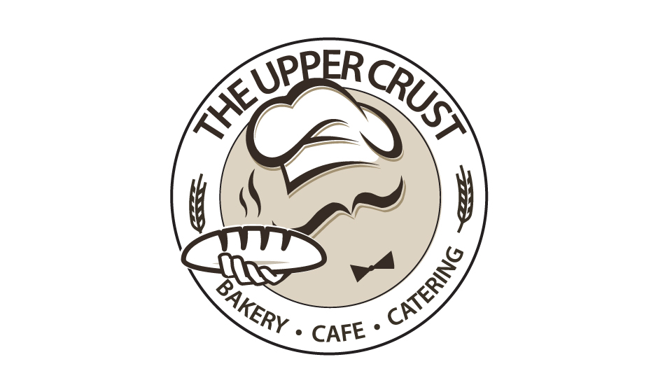 The logo for Uppercrust Cafe and Catering in Columbia, MO