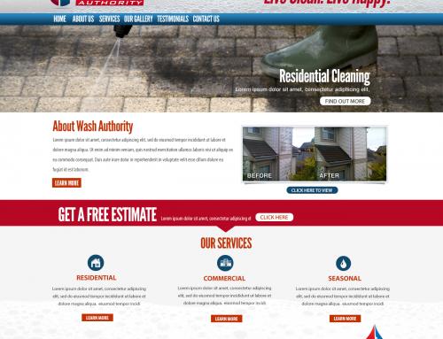 Wash Authority – Logo & Web Design